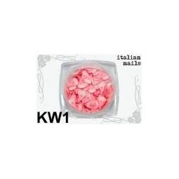 Italian Nails - Kwiatki Fimo - Woreczek 10 sztuk - KW01