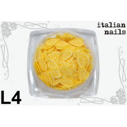 Italian Nails - Listki  Fimo - Woreczek 10 sztuk - L04