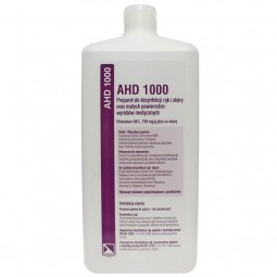 AHD 1000 Alkoholowy preparat do dezynfekcji rąk i skóry 1000ml