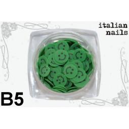 Italian Nails - Buźki Fimo - Woreczek 10 sztuk - B05
