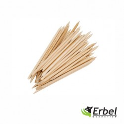 Italian Nails - Patyczki Z Drzewa Pomarańczowego Mini 7,5cm- 10szt.