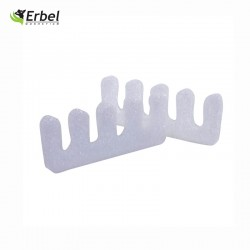 Italian Nails - Separatorki Do Pedicure- Piankowe Białe 20 par