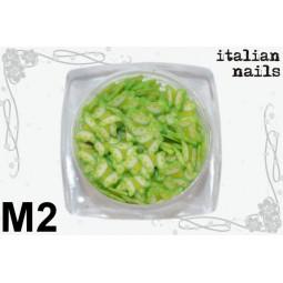Italian Nails - Motylki Fimo - Woreczek 10 sztuk - M02