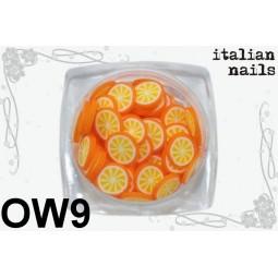 Italian Nails - Owoce Fimo - Woreczek 10 sztuk - OW09