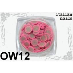 Italian Nails - Owoce Fimo - Woreczek 10 sztuk - OW12