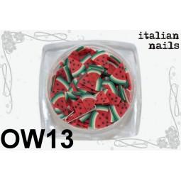 Italian Nails - Owoce Fimo - Woreczek 10 sztuk - OW13