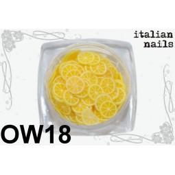 Italian Nails - Owoce Fimo - Woreczek 10 sztuk - OW18