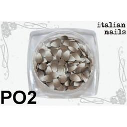 Italian Nails - Pawie Oczka - Woreczek 10 sztuk - PO2